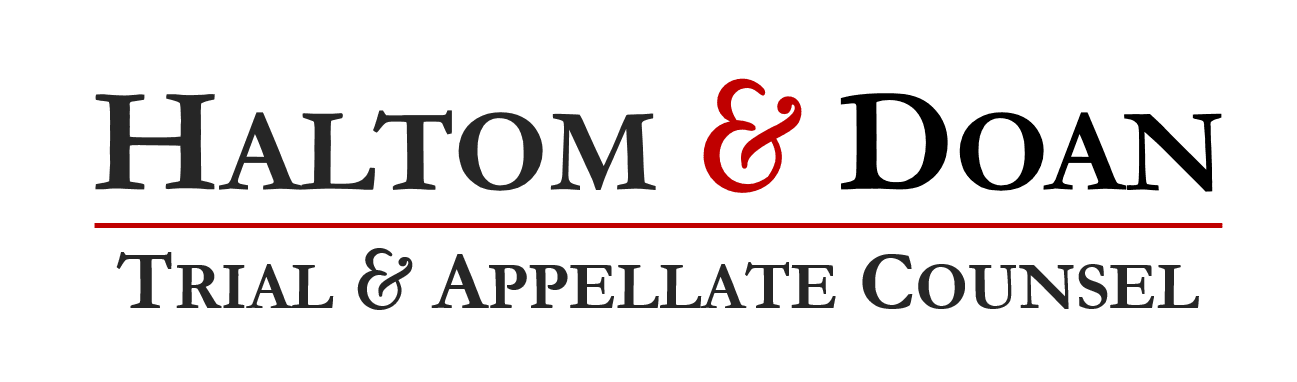 Halton and Doan Trial and Appellate Counsel