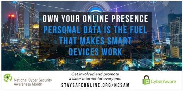 Stay Safe Online website link