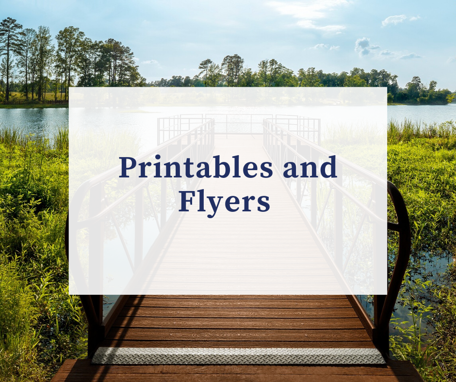 Printables and Flyers