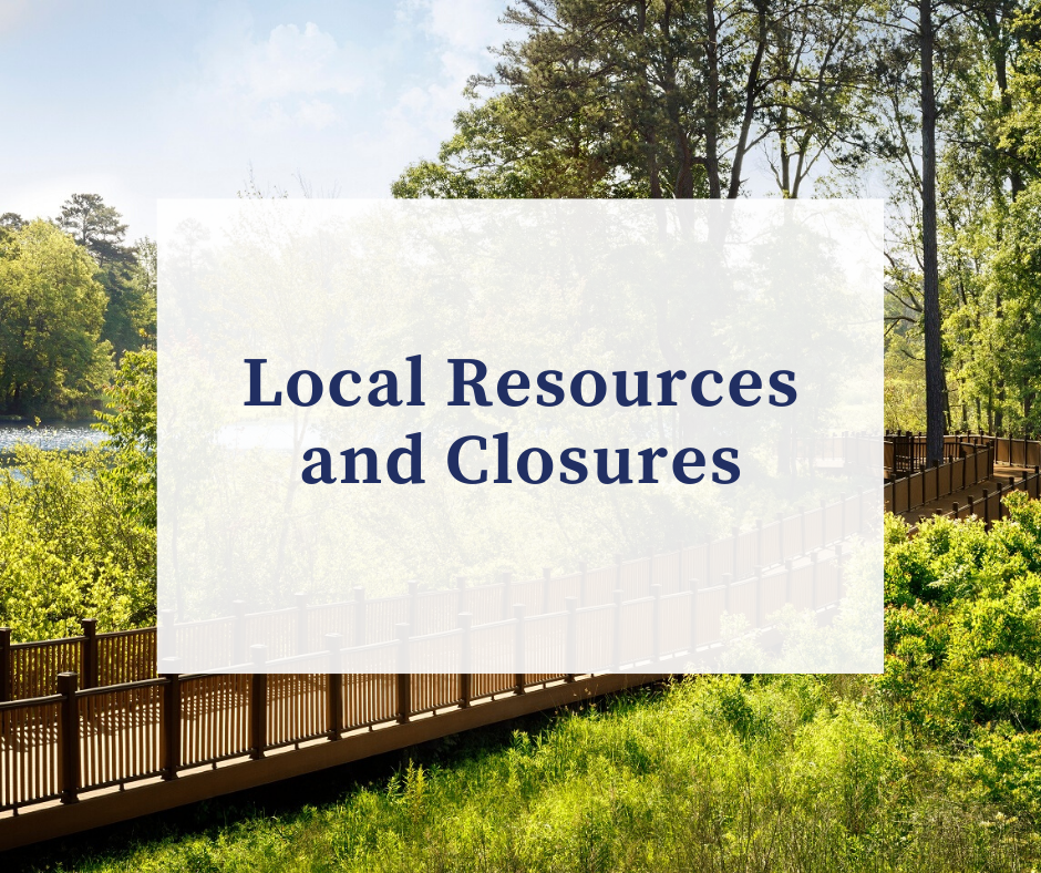 Local Resources and Closures