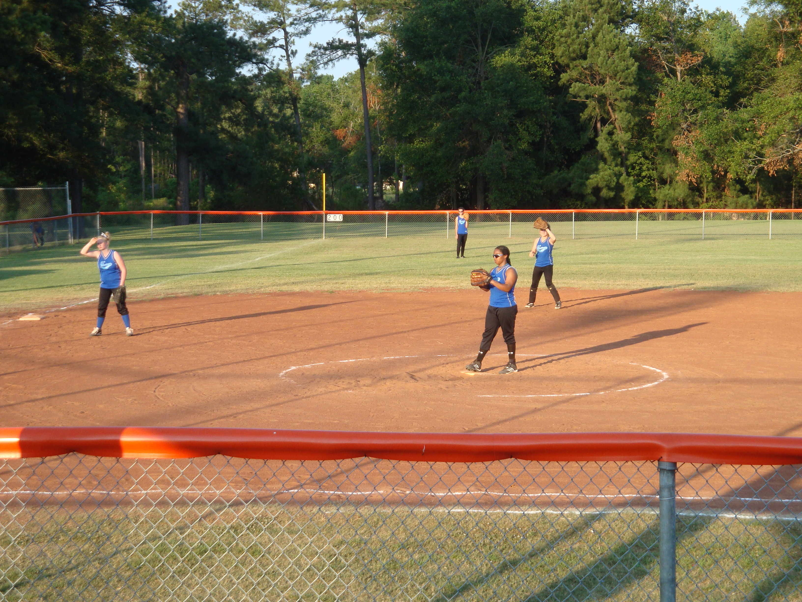 Girls Softball at Karrh